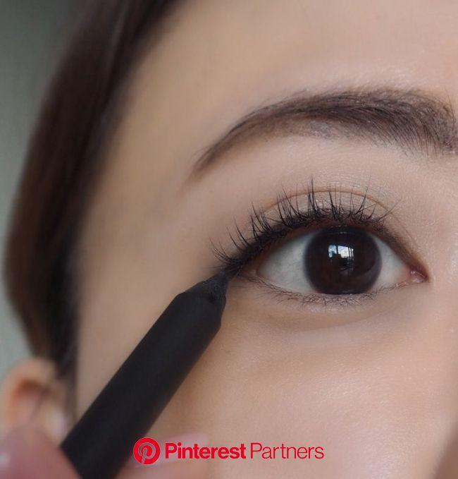誰でも「たれ目」になれるアイライナーの引き方。 プロの技&おすすめアイテムを✔︎   Eye makeup, Skin care, Makeup