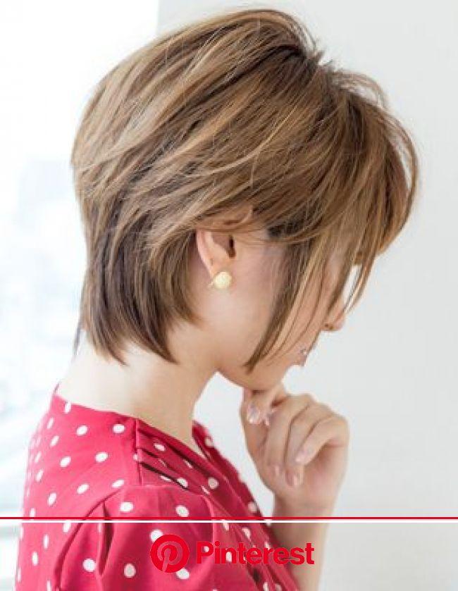 大人リラックスカールミディアム(IT-098) | ヘアカタログ・髪型・ヘアスタイル|AFLOAT(アフロート)表参道・銀座・名古屋の美容室・美容院 | ヘアスタイル, 髪型, ショートカット 髪型