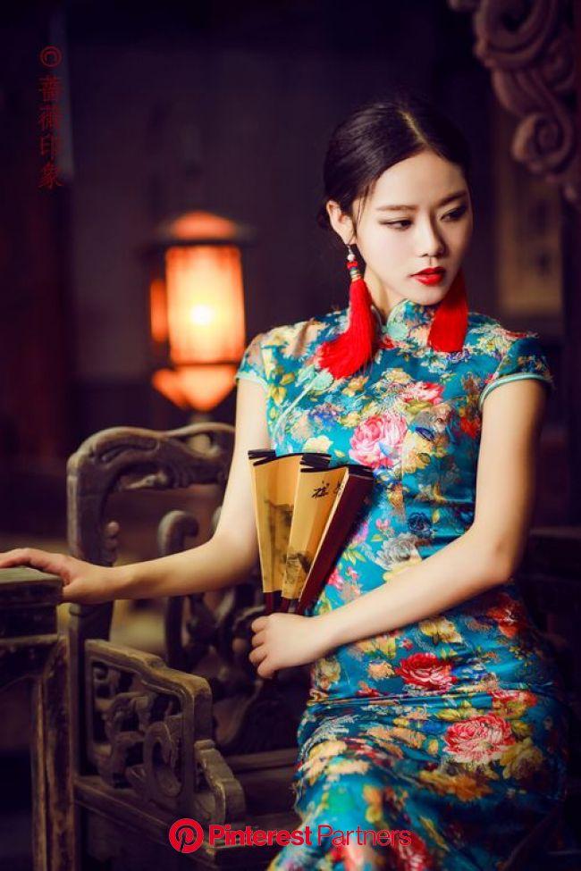 :-) Beautiful! in 2019   Asian fashion, Oriental fashion, Cheongsam