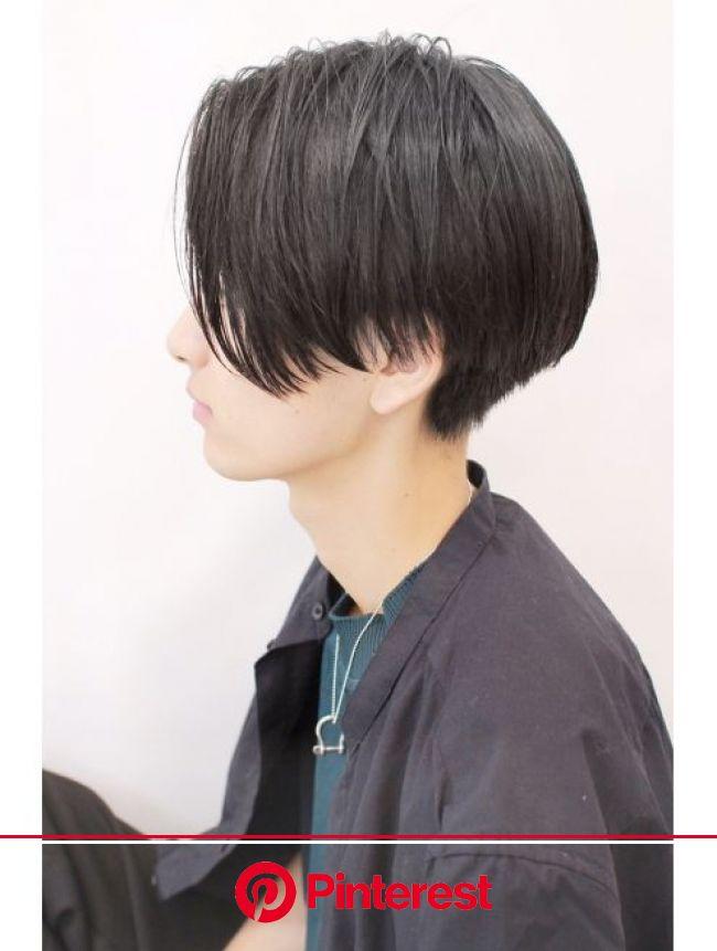 アクシー 渋谷店(AXY)axy渋谷 齋藤 cut3600グランジスマートマッシュイメチェンaw   ヘアスタイル, テクノカット, 中性的 髪型