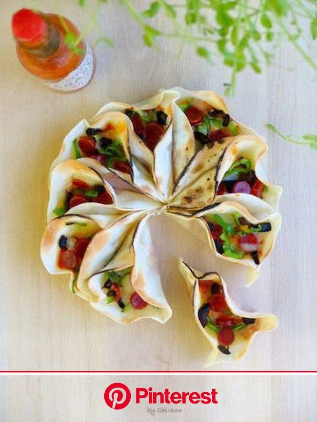 【トースターで簡単】豪華!「餃子の皮ちぎりピザ」でパーティが盛り上がる♪ | カフェフード, レシピ, 料理 レシピ