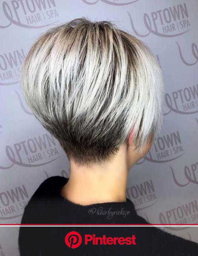 Beste kurze Wedge-Haarschnitte für schicke Frauen | Прически для коротких волос, Короткие стрижки, Хорошая короткая стрижка