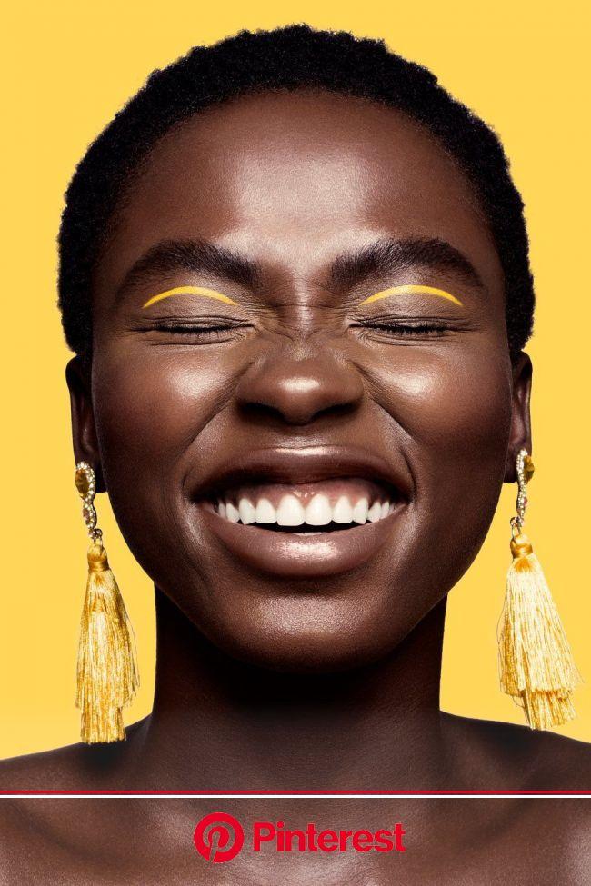Beautiful. | Yellow makeup, African american beauty, Beauty photography