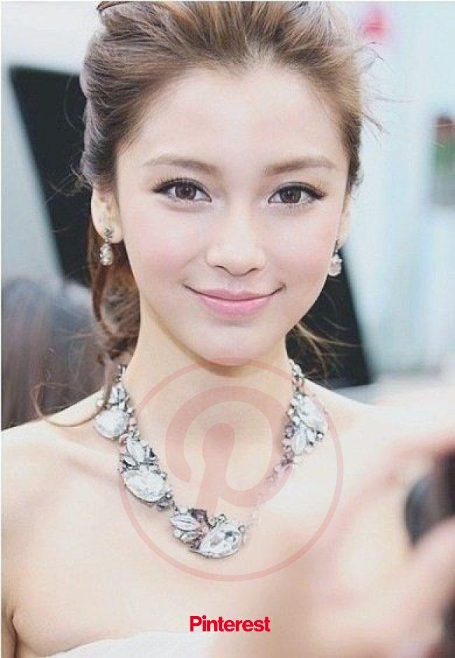 三度の飯より美人が好き   Asian wedding makeup, Romantic wedding makeup, Natural wedding makeup