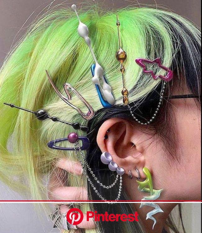 HOME in 2021 | Hair clips, Aesthetic hair, Hair styles