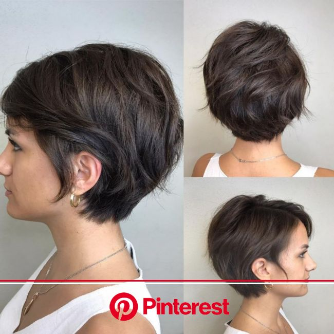 70 Cute and Easy-To-Style Short Layered Hairstyles | Short hair with layers, Short bob hairstyles, Bobs haircuts