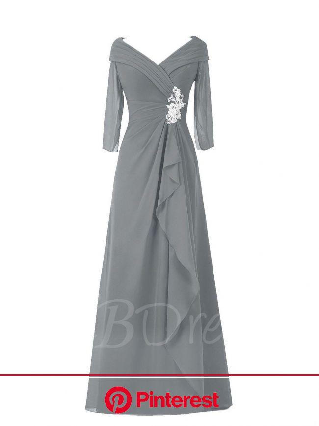 Pleats Appliques Plus Size Mother of the Bride Dress | Mother of the bride dresses long, Mother of the bride dresses, Bride dress