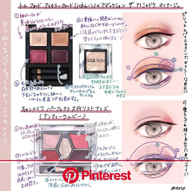 ???????????????????? on Twitter | Eye makeup, Makeup cosmetics, Makeup