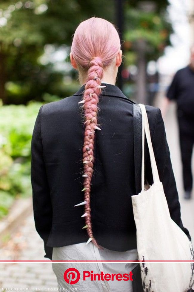 More Crazy Cool Braids (All Found On Pinterest) | Spiked hair, Hair styles, Hair envy