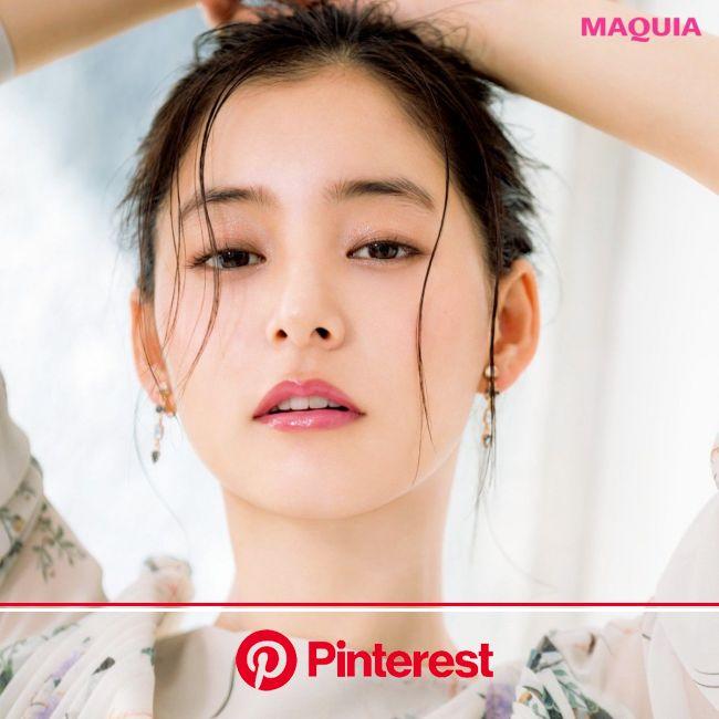 赤みピンク投入でシンプルな顔立ちに華を添えるリップメイク術 | ジャパニーズビューティー, 美容撮影, 顔