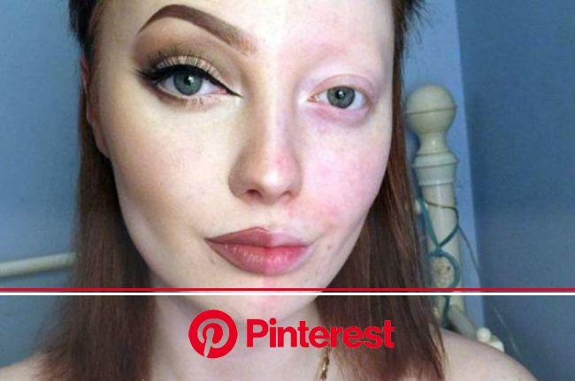 theBERRY | Half face makeup, Face makeup, Power of makeup