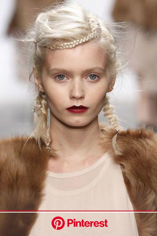 Pin by Delaney Maloney on hair | Catwalk hair, Runway hair, Editorial hair