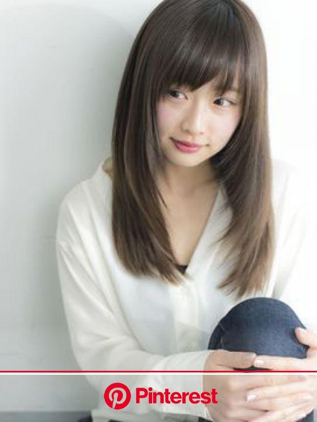 ケーツーナゴヤ(K two NAGOYA)《K-two名古屋》ツヤ髪ストレート×内巻きスタイル | 髪 ストレート, ロングヘア, 髪 色