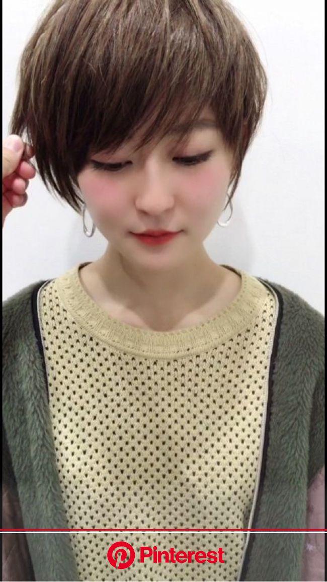 お客様ビフォーアフター【2020】   アシメ 髪型, ヘアスタイリング, ヘアカット