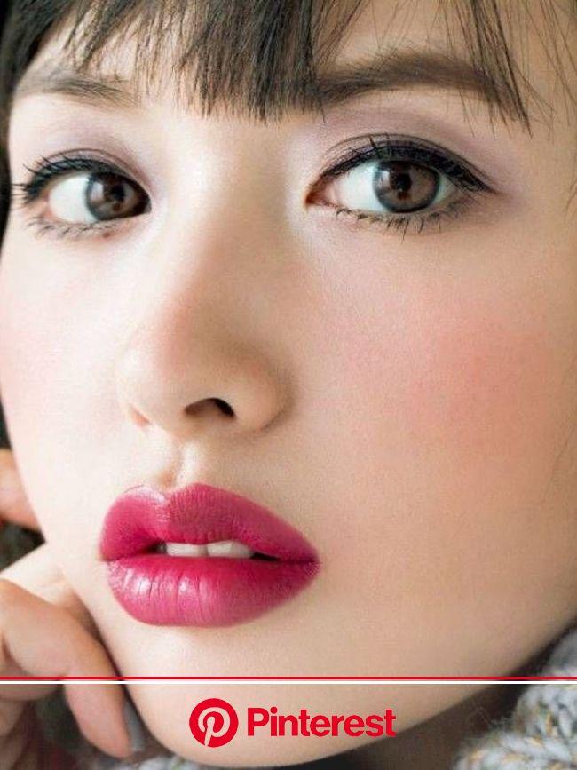 鈴木えみ : 顔アップ特集 [綺麗な女優・アイドル・モデル、芸能人の顔アップ画像研究所(顔面アップ同好会~顔好きによる顔好きのための好きサイト)] | 黒髪 赤リップ, 鈴木えみ, アジアの女性