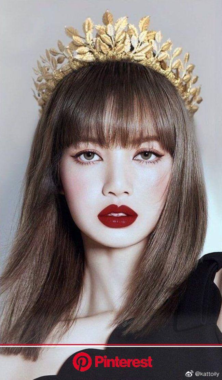 Лиса Манобан [Lisa Manoban] {Blackpink} в 2020г | Тренды макияжа, Прически, Красивые азиатские девушки