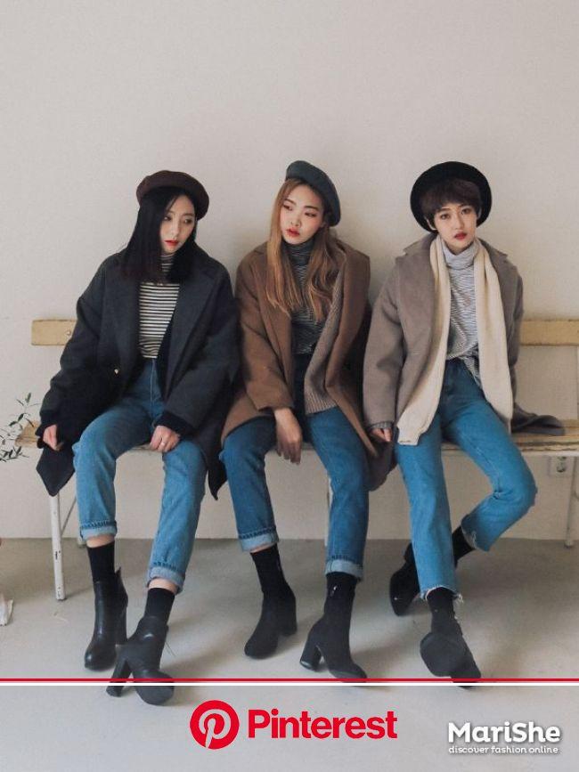 Korean Similar Look | Official Korean Fashion | Korean street fashion, Korean fashion winter, Korean fashion trends