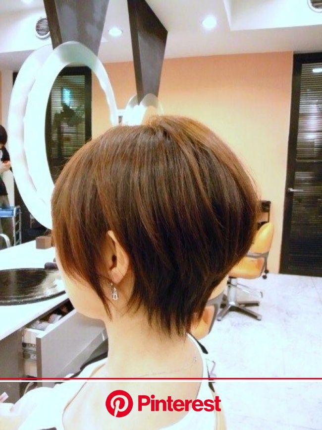『40代・50代・60代ヘアスタイル・ショート (酸性ストレートパーマ)』 | 60代 ヘアスタイル, ヘアスタイル, 60代 髪型