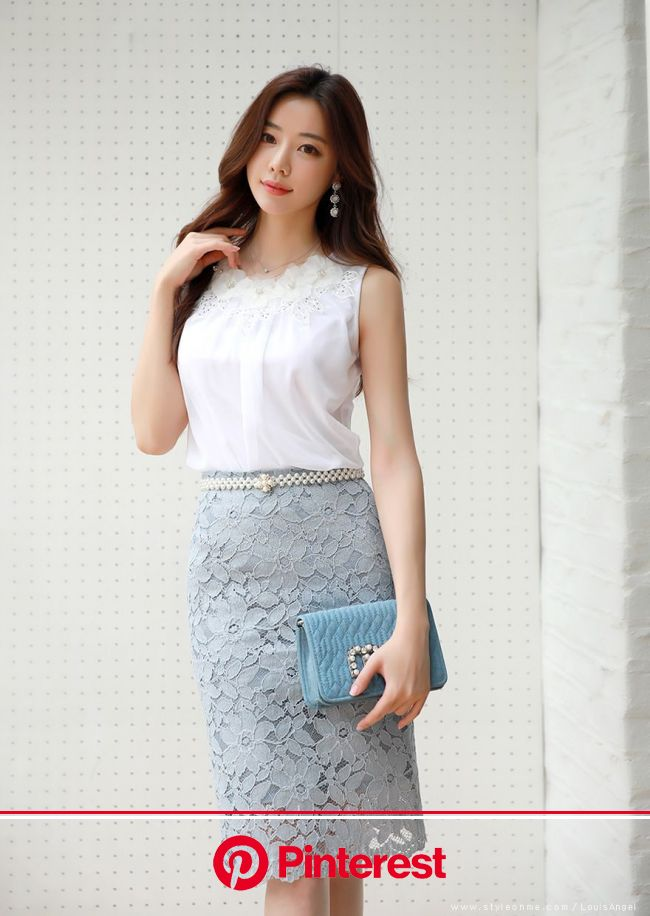 ロマンス フラワーレーススカート | ファッションアイデア, ティーンファッション, レーススカート