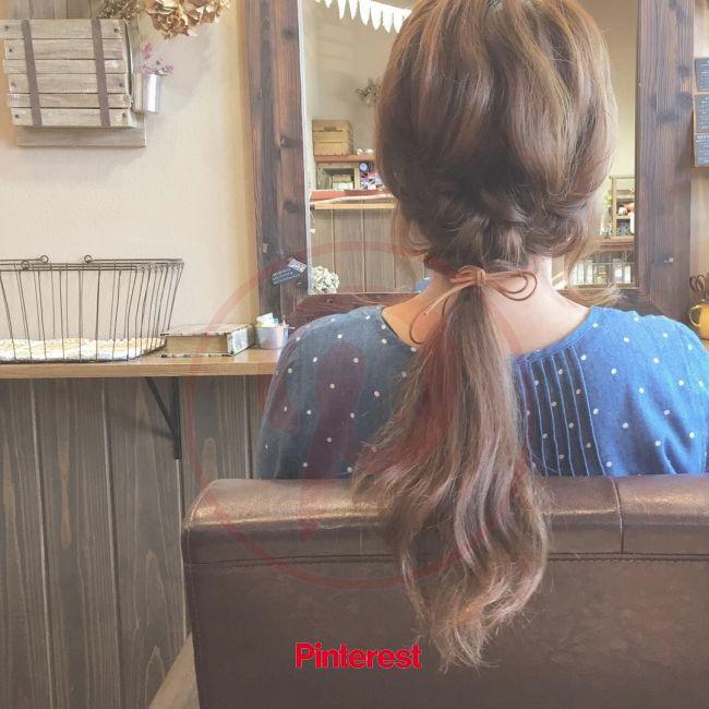 こんなに簡単でいいの?不器用さんでも絶対できる「2ステップアレンジ」8選 | Hair styles, Cute hairstyles, Hair