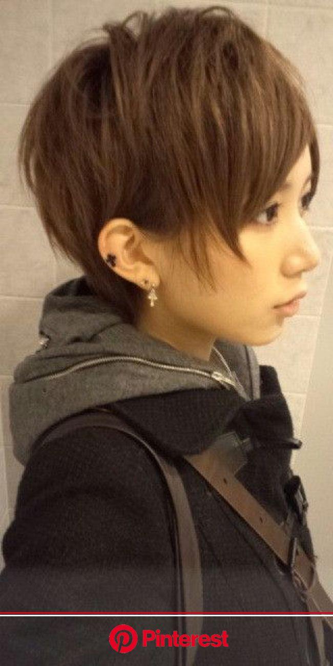 beforヘアー の画像|☆神コレモデルオーディション ファイナリストブログ☆ | イケメン 女子 髪型, ピクシーヘア, かっこいい ヘア