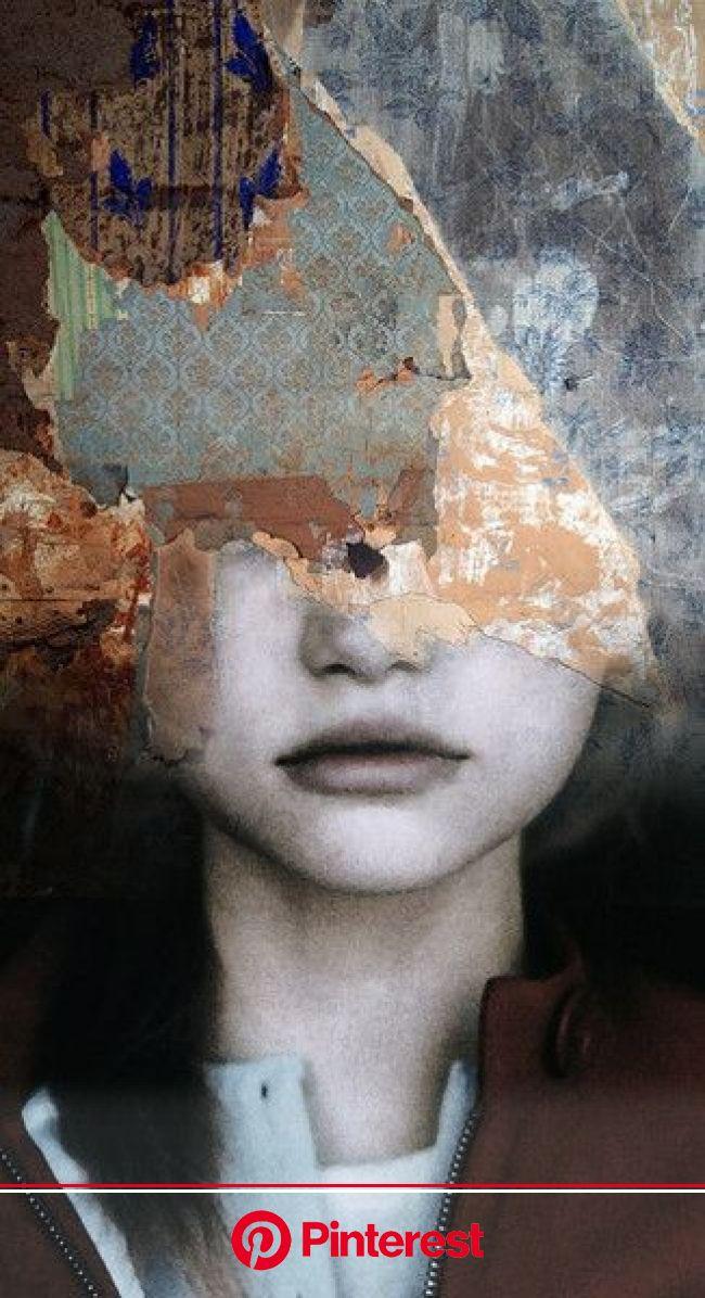 Gorgeous Multiple Exposure Portraits by Antonio Mora | Collage art, Artist, Artwork