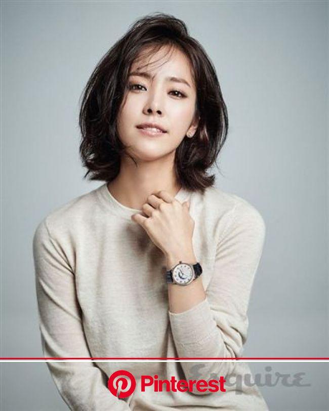 Han Ji-min(born November 5, 1982) is a South Korean  actress. | 韓国人の髪, 短い髪のためのヘアスタイル, ヘアスタイリング