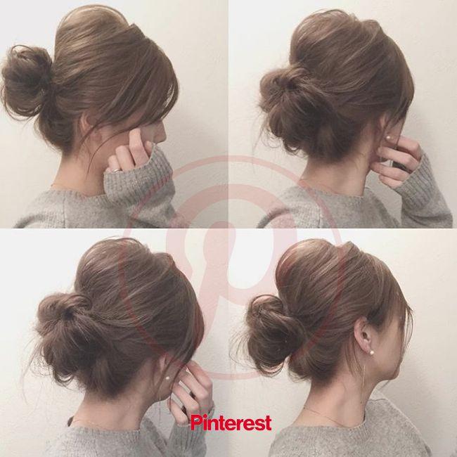 簡単で素敵に♡山本明果さんのヘアアレンジを学ぼう! | Hair arrange, Hair setting, Short hair updo