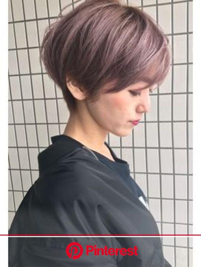 ギネス(guinness)clear violet | ショートカット アシメ, ヘアスタイル, ショートカット
