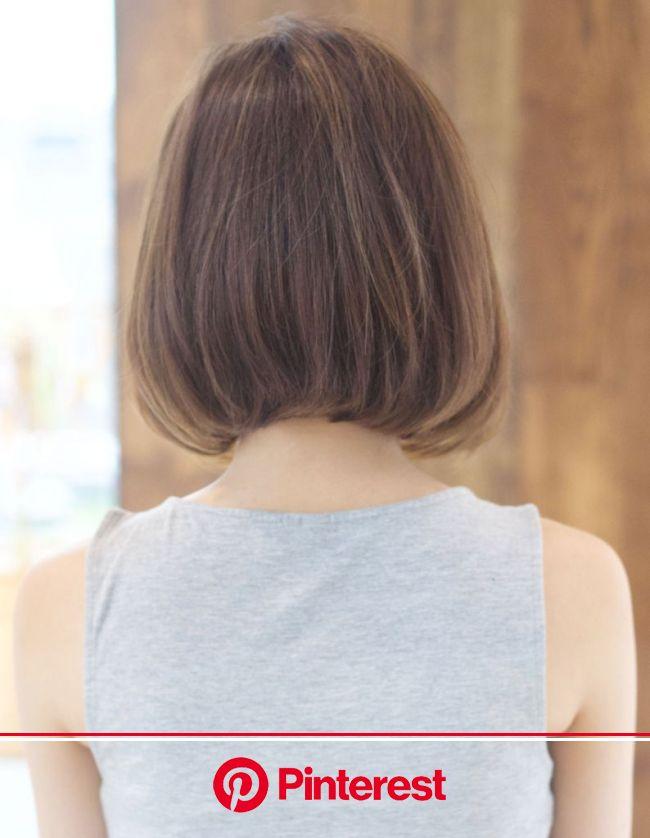 大人ナチュラルボブ(TK-116) | ヘアカタログ・髪型・ヘアスタイル|AFLOAT(アフロート)表参道・銀座・名古屋の美容室・美容院 | 髪型 ボブ ストレート, ヘアスタイル, ボブ カール