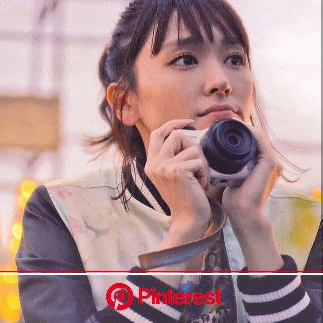 いいね!416件、コメント1件 ― @gakii_6118_のInstagramアカウント: 「CanonのEOS M100を買ってもらおうかと企んでる笑 ガッキーよい☺︎カメラ似合う笑笑このCMすき♡ #新垣結衣#ガッキー#カメラ」 | カメラ女子, 人 画像, 有名人