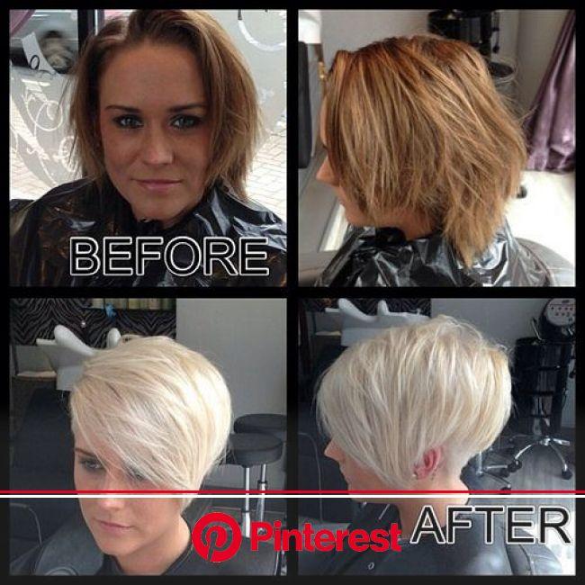 20273 | Hair styles, Short hair styles, Hair makeover