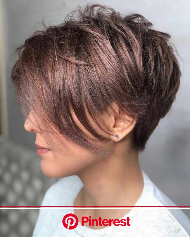 40 Cute Short Haircuts for Women 2019 - Short hairstyles for many women have a very fine hair structure.… | Stylish short haircuts, Hair styles, Cute